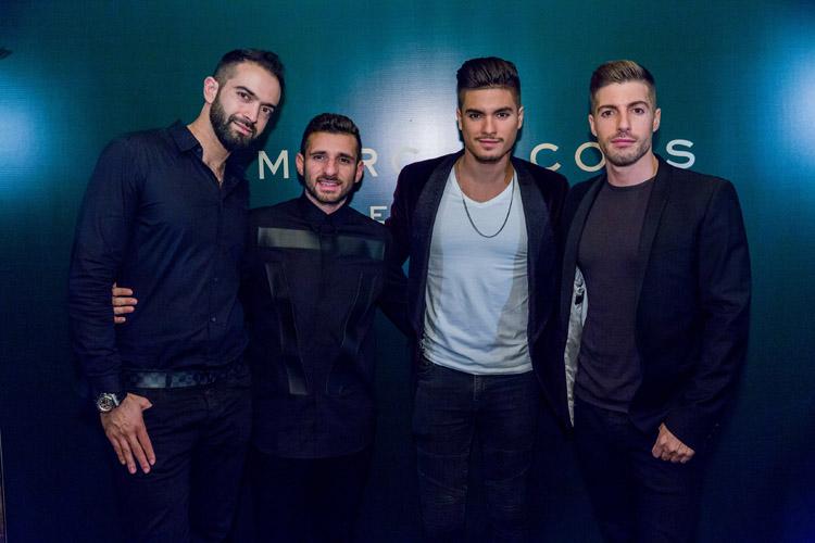 Ayman Fakoussa, Mohanad Al Hattab, Eddie Chavez, Milan Petrovic