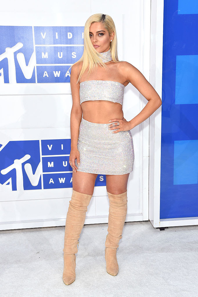 NEW YORK, NY - AUGUST 28: Bebe Rexha attends the 2016 MTV Video Music Awards at Madison Square Garden on August 28, 2016 in New York City. (Photo by Jamie McCarthy/Getty Images)